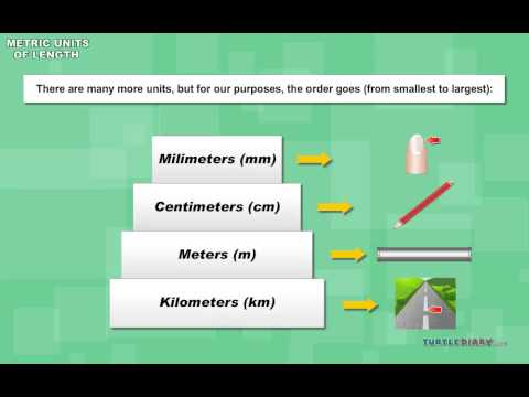 Metric Units of Length