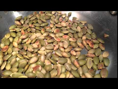 Toasting Pepitas