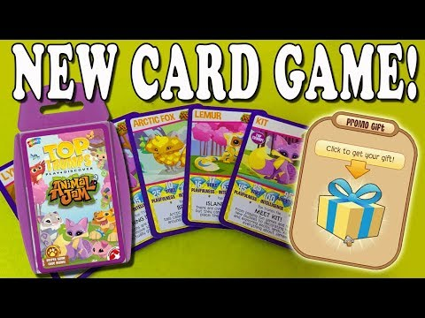 Animal Jam Top Trumps - New Card Game & Promo Code!