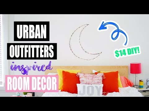 Urban Outfitters Inspired Room Decor!