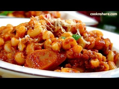 Meat and Cheese Macaroni