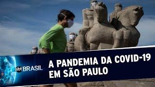 São Paulo registra recorde de quase 7 mil novos casos da Covid-19 em 24 horas | SBT Brasil(02/06/20)