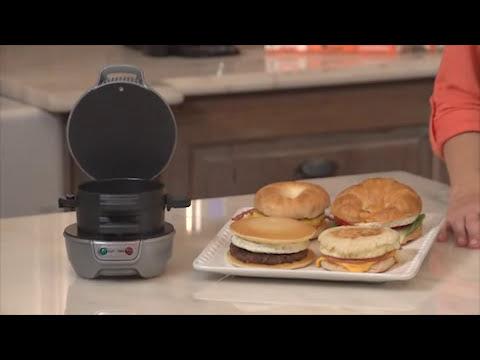 Hamilton Beach Breakfast Sandwich Maker 25475