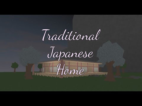 Roblox - Bloxburg: Traditional Japanese Home Speedbuild
