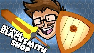 Fully Equipped! - My Little Blacksmith Shop Update 0.0.92 Gameplay