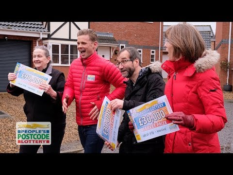 Street Prize Winners - NR10 3TA in Hainford on 25/02/2018 - People's Postcode Lottery