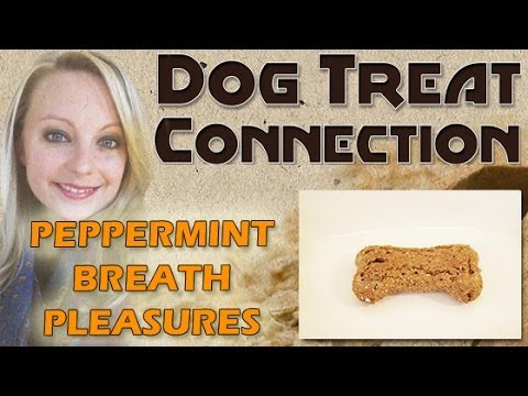 Dog Treat Connection - Peppermint Breath Pleasures - All Natural & Healthy Dog Treats