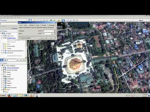 calculating acres with google earth pro