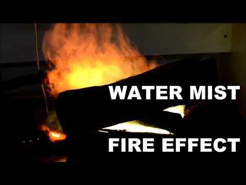 Water Mist Fire Effect