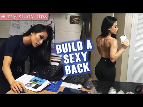 The Smartest Workout for a Defined Back | My Study Tips (How I Study)