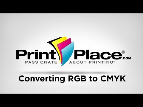 Converting RGB to CMYK | Photoshop, Illustrator, and Publisher