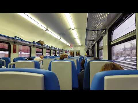 Crazy Central Suburban Passenger Company brainwahes passangers, Moscow :)