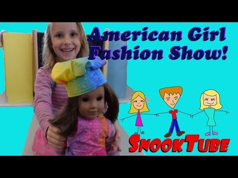 American Girl Fashion Show -- Kids at play