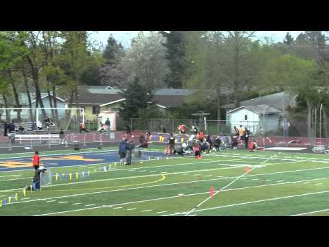 Very fast 200m dash high school!!