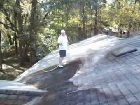 How to Clean Dirty Roof Shingles #1 - Capital Roof Wash and Exterior Cleaning - Tallahassee