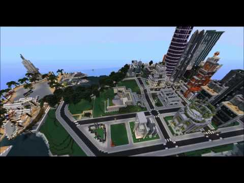 Minecraft Timelapse The City of KERALIS