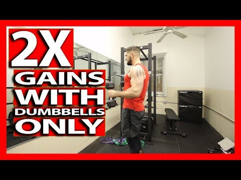 Best Arm Workout With Dumbbells: How To Grow Your Arms Fast At Home (Exercise Explanations)