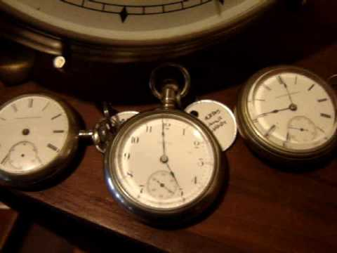 American Pocket Watch Collection