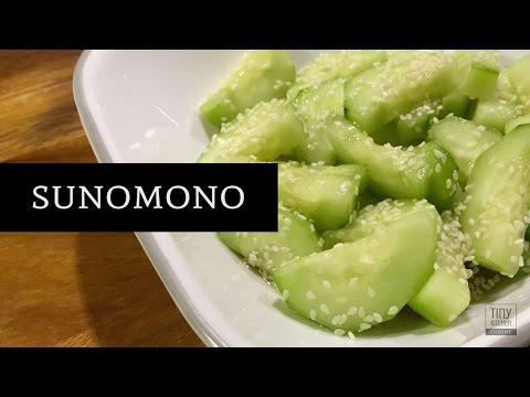 Sunomono: Japanese Cucumber Salad