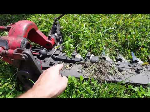 Cutting Hay With a Sickle Bar - Tips, Tricks, and Bad Weather