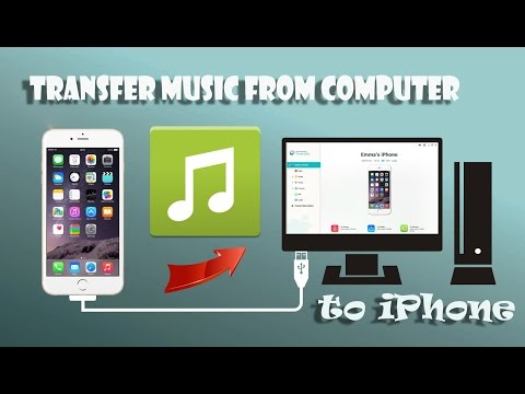 Khmer - How to tranfer music from computer to iPhone without iTools/iTunes - 2017