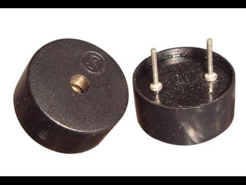 Making a piezoelectric buzzer quieter