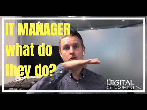 What does an IT Manager do?? Skills and Responsibilities