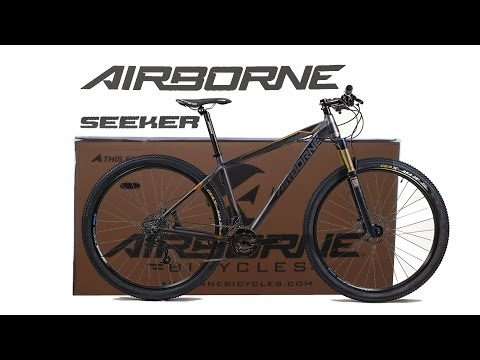 Airborne Seeker MTB Unboxing and Assemble Time Lapse 29er