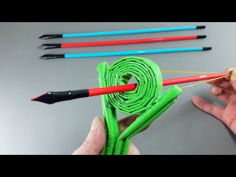 | DIY | How to Make a Slingbow using Paper-Easy Tutorial