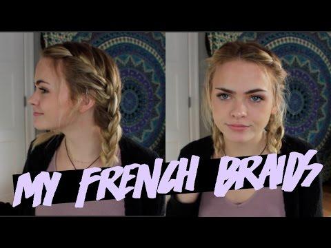HOW I FRENCH BRAID SHORT HAIR // Summer Mckeen