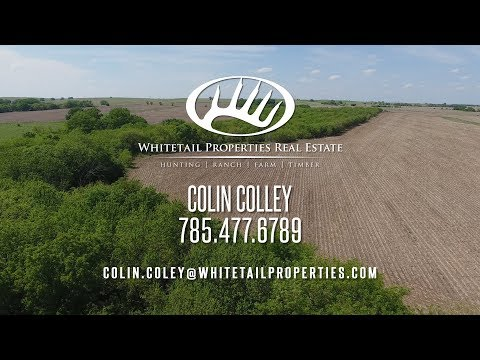 Beautiful Hunting Farm And Home In North Central Kansas - Cloud Co KS 235.53 acres
