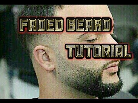 Faded Beard Trim & Shave With Straight Razor | Tutorial