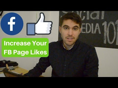 How To Increase Likes on Your FB Fan Page 👍