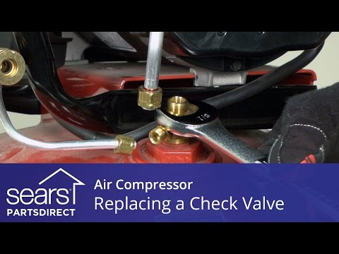 How to Replace an Air Compressor Check Valve