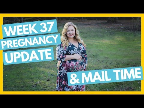 37 Week Pregnancy Update 🤰 & Mail Time 💌Full Time RV Family