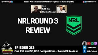 NRL Round 3 Review - NOT The Footy Show Episode 213