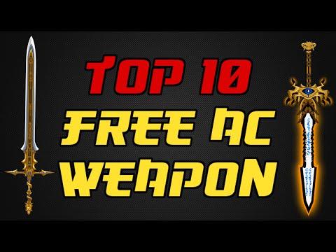 ⌠Aqw⌡ |Top 10 |【Free Ac Weapons】