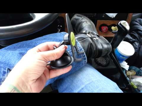 Cell phone dash windshild suction cup