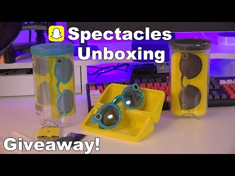 Snapchat Spectacles Unboxing & First Look + Giveaway!