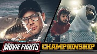 MOVIE FIGHTS CHAMPIONSHIP! - E.T. vs Jaws - LIVE!