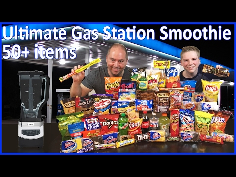 Ultimate Gas Station Smoothie (50+ items!!) : Crude Brothers