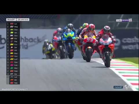 [Marc Marquez] CRASH MOTO GP ITALY [Mugello 2018] 🔥🏍🔥