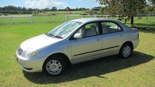2002 Toyota Corolla Gl Nz New Sedan $1 Reserve!!! $cash4cars$cash4cars$  ** Sold **
