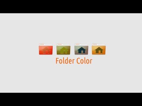 Folder Color : Make Folder in Nautilus and Nemo File Manager Colorful