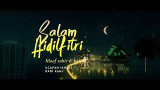Selamat Hari Raya Aidilfitri 2020. Maaf Zahir Batin. Salam Aidilfitri - PKP