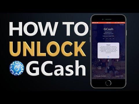 How to Unlock GCash Account