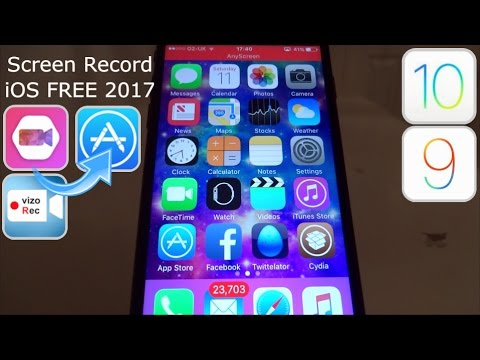 NEW iOS 9 / 10 Screen Recorder In App Store FREE NO Jailbreak NO PC iPhone iPad iPod Touch