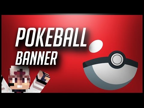 How To Make A PokeBall Banner In Minecraft!