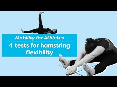 Hamstring flexibility testing - How flexible are your hamstrings
