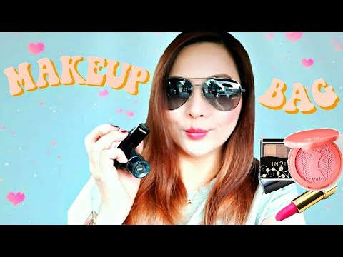 what's in my makeup bag ⍣ day in the life in manila #TheWickeRmoss